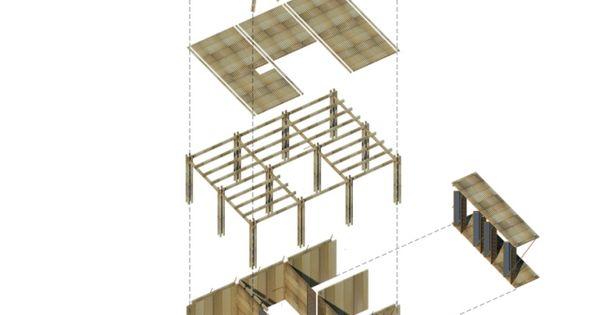 bambushäuser prototyp wohnbauprojekt vietnam niedrge kosten