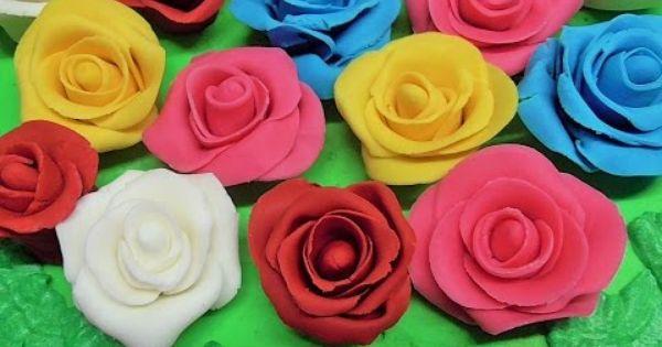 Jak Zrobic Roze Z Masy Cukrowej Kasia Ze Slaska Gotuje Rose Plants