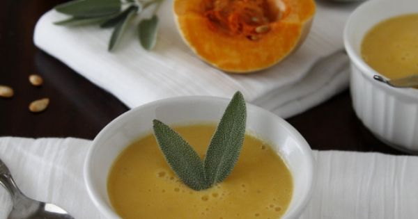 Cream of Pumpkin Soup {Crema di Zucca}