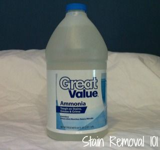 How To Use Ammonia For Laundry Removing Stains Amonia Cleaning
