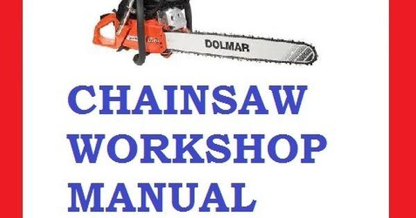 Dolmar Chainsaw 109 110i 111 111i 115i Workshop Service Repair