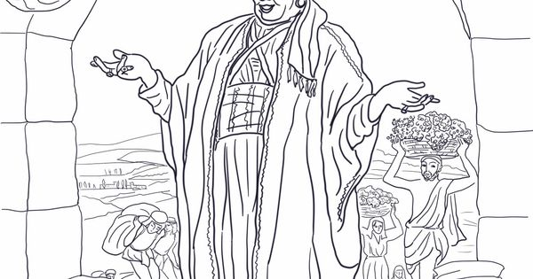 Parable of the rich fool coloring 1245 1600 for Parable of the unforgiving servant coloring page