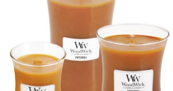 Patchouli WoodWick Candles These candles are really neat ...