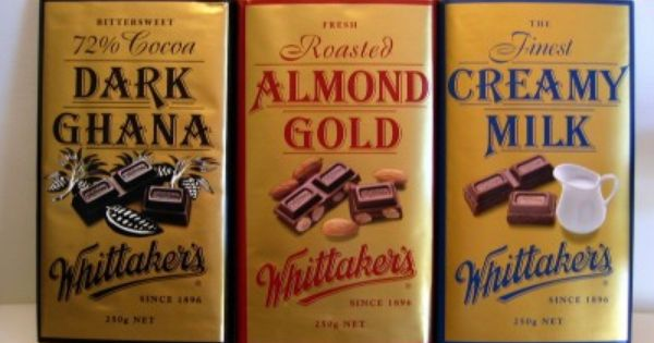 Whittakers Chocolate We Always Keep This On Hand During A