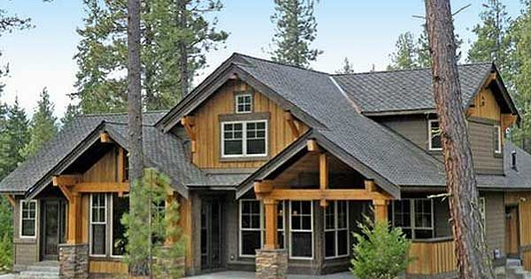 Plan 23483jd Marvelous Mountain Home Exterior Colors Craftsman And The Floor