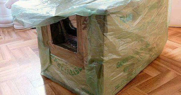 faire une niche ext rieure douillette pour son chat maison chat pinterest. Black Bedroom Furniture Sets. Home Design Ideas