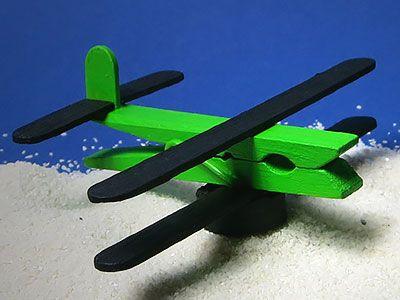 Flugzeug Basteln Flugzeug Basteln Kindergeburtstag Basteln Basteln Mit Wascheklammern
