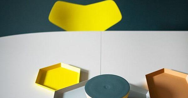 Kaleido Trays by Clara von Zweigbergk for HAY