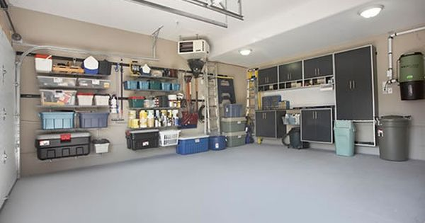 Organizing Garage Organized Garage Garage Makeover Home Gym Flooring Garage Organization