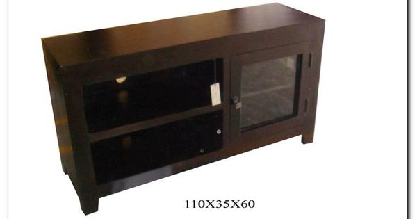 Condo tv media unit sleek design comes in a natural wood for Tv unit design for small spaces