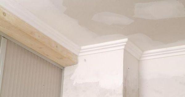 Pintar techo de yeso laminado y molduras de poliestireno - Molduras de poliestireno ...