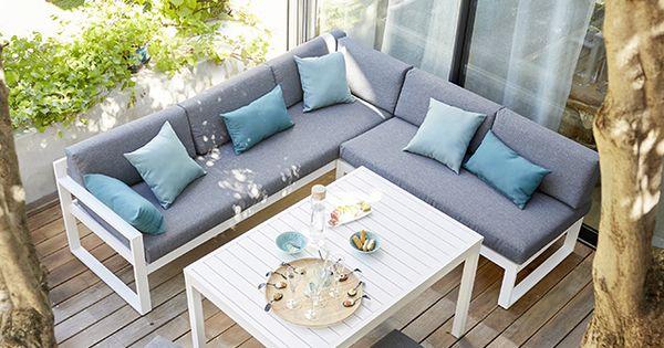 salon de jardin en m tal collection batang castorama jardin pinterest m taux et salons. Black Bedroom Furniture Sets. Home Design Ideas