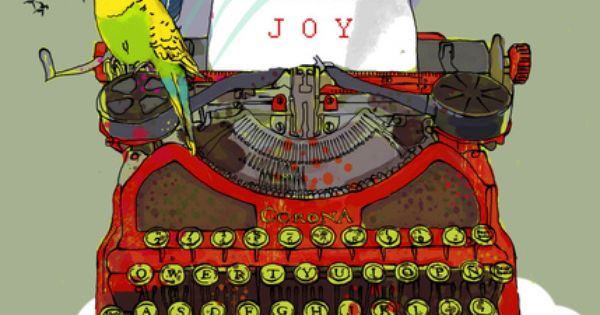 today I choose JOY Art Print by Elisandra