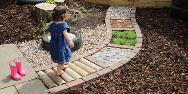 Giardini E Percorsi Sensoriali Per Bambini Fai Da Te