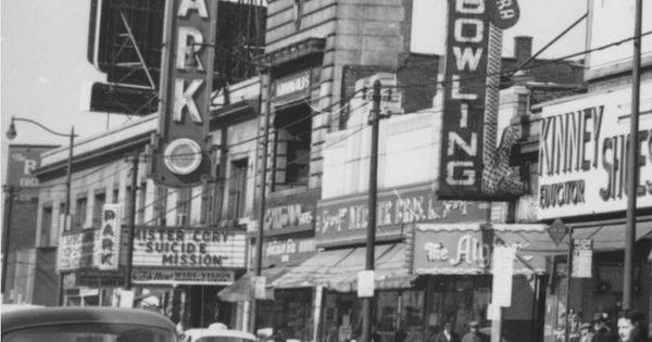 east 105th street in cleveland ohio in 1960