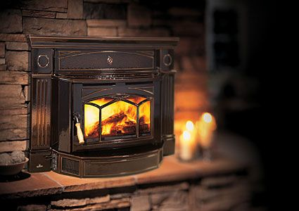Improve the efficiency of your fireplace with a for Alternative fireplaces