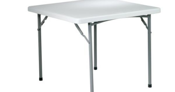 Office Star Products 36 In Square Resin Folding Card Table White By Office Star 118 95 If You Know Folding Table Multipurpose Table Osp Home Furnishings