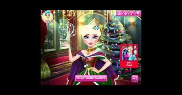 Frozen Games Let S Help Elsa Queen And Anna Makeover Makeup And Dress Up For Christmas So Funny