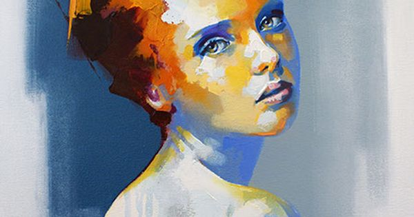 Quot Miramiento Quot By Solly Smook Abstract Portrait Painting Of