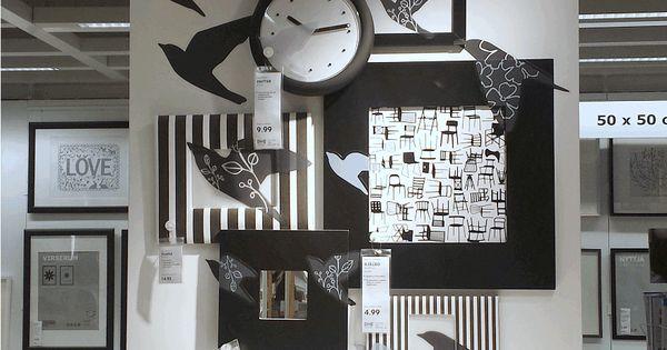 Gespot in IKEA Utrecht, Maak een statement-wall in je slaapkamer. Hang ...