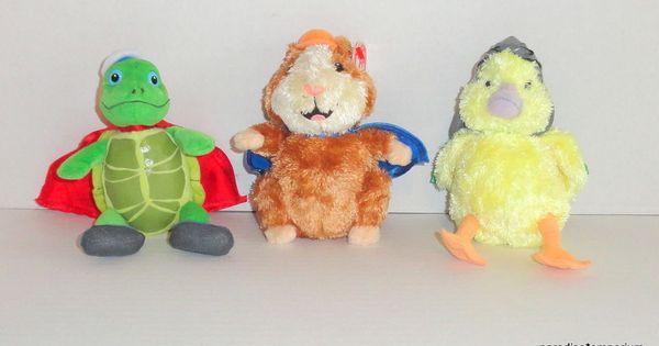 Ty Beanie Babies Wonder Pets Plush Set Lot Linny Tuck Ming Ming P55 Wonder Pets Baby Beanie Ty Beanie