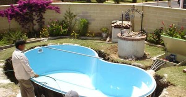 T cnicas constructivas piscina de fibra de vidrio el for Piscinas desmontables verdecora