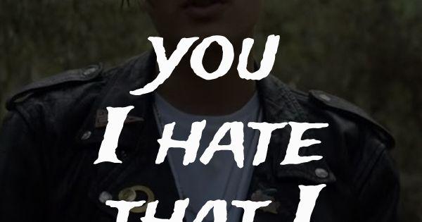I hate the way feel lyrics