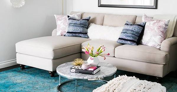 14 ways to make a small living room bigger lucite for How to make lucite furniture