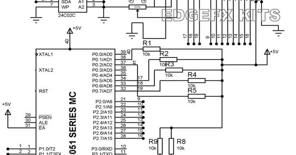 eeprom  u2013 features  applicaitons  u0026 circuit diagram