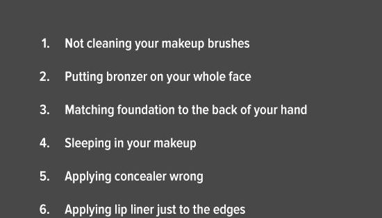 Are you making these makeup mistakes? Make tomorrow morning different — learn