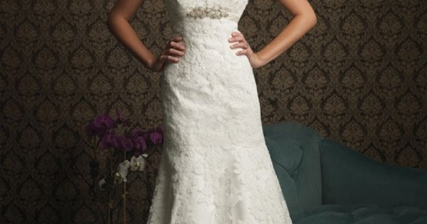 lace strappy wedding dress