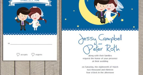Humor Wedding Invitations: Funny Wedding Invitation Featuring