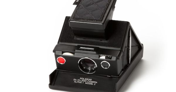 SX-70 impossible project kit.. I wish for an old school polaroid camera..