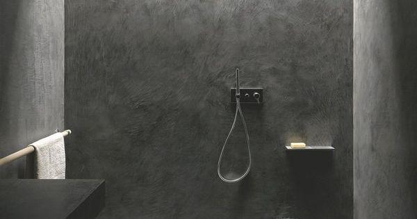 r novation salle de bain douche sans joint et sans carrelage le sol faience et il prend. Black Bedroom Furniture Sets. Home Design Ideas