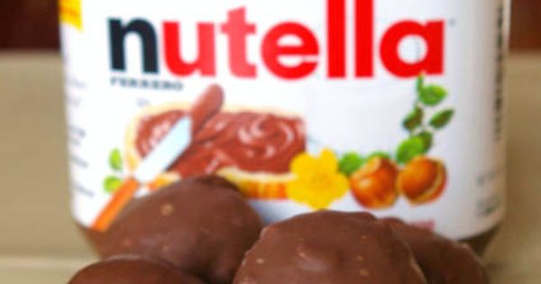 Lovin' all these Nutella recipes! nutella truffles - these must be a