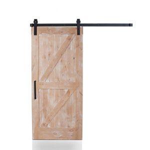 In Our Dutch Z We Created A Door That Defines Functional Art We Began With Durable Wood Slats Added The Histori Diy Barn Door Kit Mirror Barn Door Barn Door