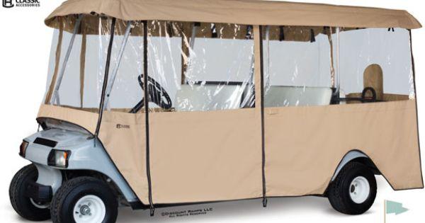 Pretty cool for transporting seniors deluxe 6 passenger for Motorized cart for seniors