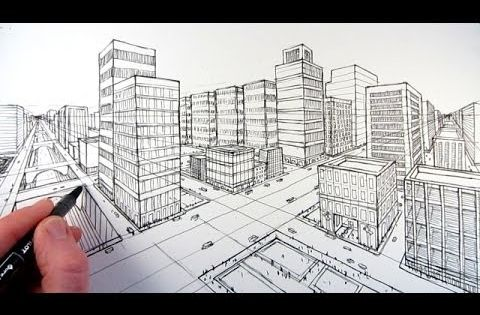 Video: EXTERIOR 2 point Perspective (Get the basic info ...