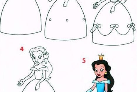Prenses Resmi Nasil Cizilir Nazarca Com 2020 Drawing Lessons Boyama Kitaplari Prenses