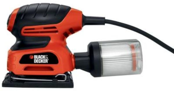 Black Decker 1 4 Sheet Sander With Filtered Dust Collection Qs900 At The Home Depot Sheet Sander Black Decker Dust Collection