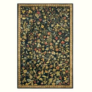 Home Decorators Collection Bristol Black 12 Ft X 15 Ft Area Rug 3974670210 The Home Depot Area Rugs Rugs Buying Carpet