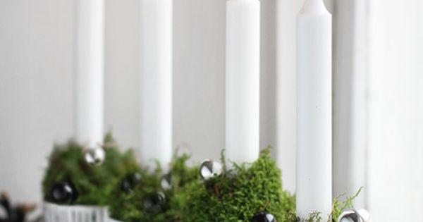 Christmas table setting decoration ideas ToniK Տ℮ʈ ìʈ Up Christmas candles