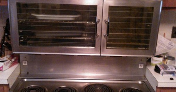 1960 Vintage Tappan Stainless Range And Wall Oven Grammy