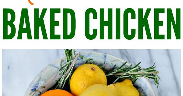 No Work Baked Chicken | Recipe | Clean eating dinner ...