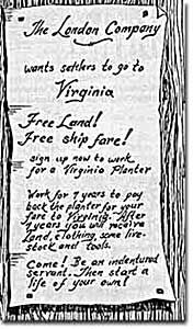 The Growth of the Tobacco Trade [ushistory org] Indentured servants Virginia studies Jamestown