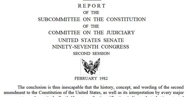 second amendment law review articles