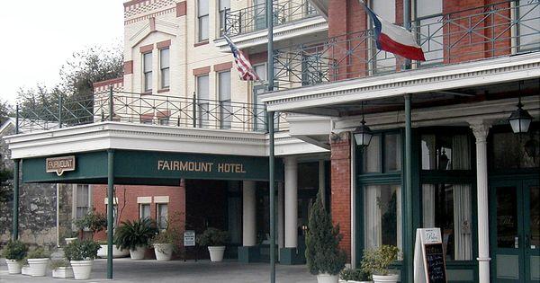 Fairmont Hotel San Antonio 2002 San Antonio Texas