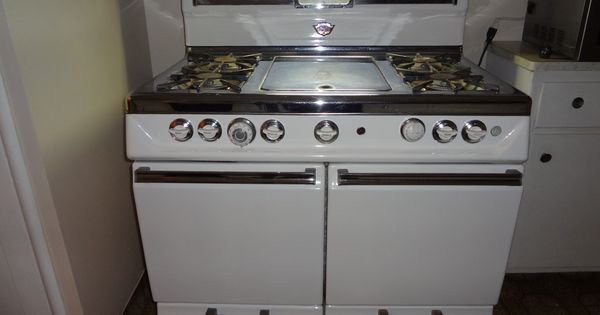 Stove With Griddle In The Middle ~ Wonderful occidental automatic circa s double oven