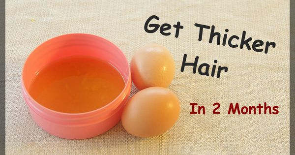 how to get thicker hair - treatment for thinning hair - how