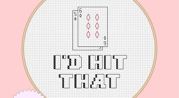 Pdf Counted Cross Stitch Pattern Instant By Disorderlystitches